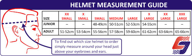 Service Champions Helmet Measurement Guide