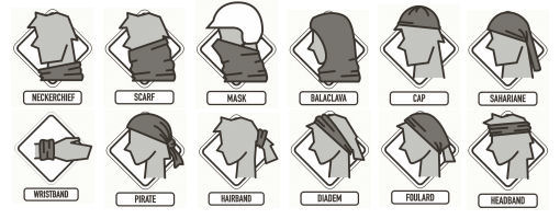 There are many different ways to wear a Buff® headwear